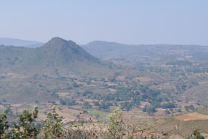 Место холмов