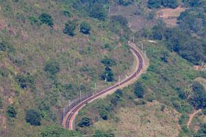 Извилистая железная дорога