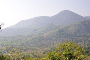 Потрясающие горы в долине Араку
