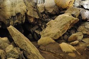 Хаотичная груда камней