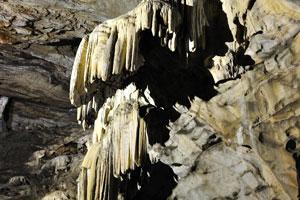 Шторы из сталактитов