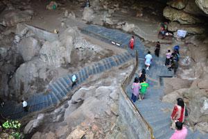 Начало пещер Борра