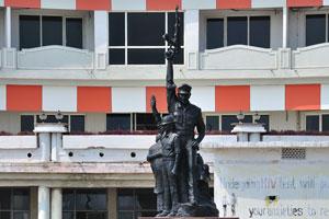Мемориал полицейскому мученику на Бич-роуд