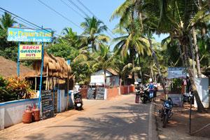 Гостевой дом Джаханави и хижины 'Пляжный сад' с ванной и туалетами