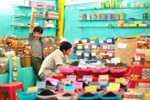 Продавцы индийского чая