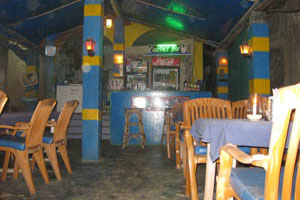 Бар и ресторан Глаза Будды внутри