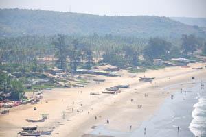 В середине пляжа Арамболь