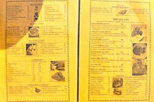 Меню ресторана Кокосовая Гостиница, стр. 2 - горячие напитки, бутерброды, блины и закуски