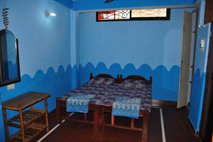 Номер с видом на море в гостевом доме Рыбака: спальня