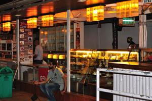 Пекарня в ночной Баге