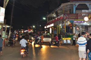 Ночная Бага - бар и ресторан Бхарат
