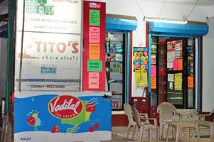 Небольшой продовольственный магазин