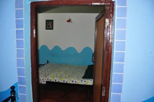 Дверь во вторую комнату нашего номера
