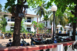 Парковка для мотоциклов
