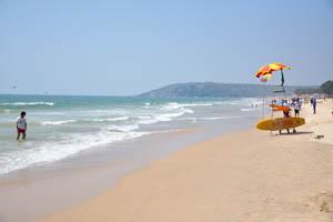 Северная часть пляжа Бага