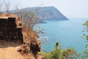 Вид на юг из форта