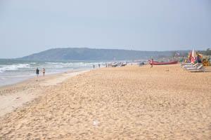 Утёс пляжа Бага крупным планом