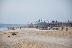 Ветер на пляже