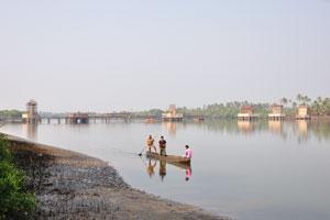 Река Сал возле деревни Ассолна