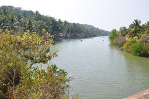 Река на пути из Колвы в Палолем