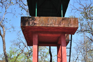 Наблюдательная башня для слежения за птицами