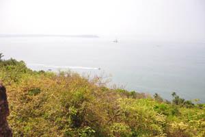 Вид из форта на Аравийское море
