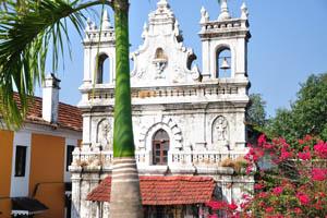 Королевская пальма и церковный колокол