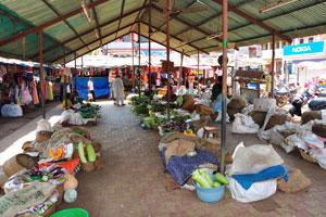 Новый рынок: большой ассортимент овощей на продажу