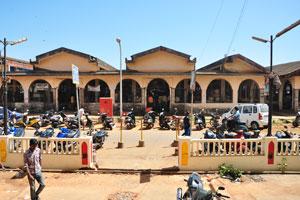 Новый рыбный рынок возле автовокзала Кадамба