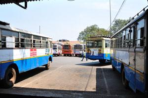 Автовокзал Кадамба: место для автобуса