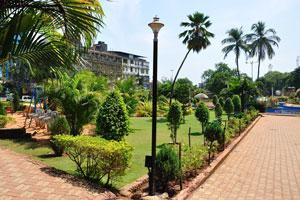 Городской сад Маргао: северная часть сада