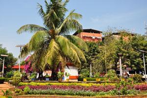 Городской сад Маргао: обилие цветов