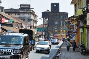 Дороги Маргао перегружены трафиком