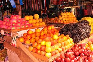 Новый рынок: яблоки и виноград