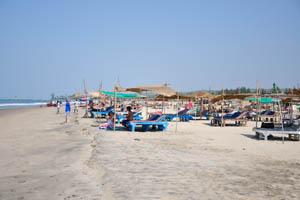 Южная оконечность длинного пляжа Морджим