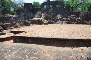 Руины комплекса св. Августина, пустое место