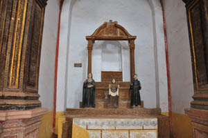 Церковь св. Франциска Ассизского, Капелла де ЭнЭс Дос Милагрес