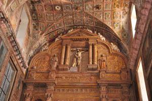 Церковь св. Франциска Ассизского, Иисус на кресте