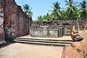Руины комплекса св. Августина, часовня Богоматери хорошего успеха