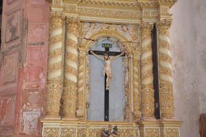 Церковь св. Франциска Ассизского, Иисус Назорей, Царь Иудейский