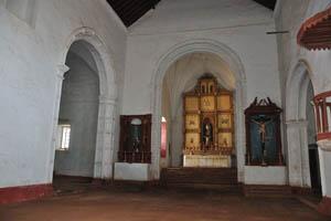 Церковь Девы Марии святого Розария, внутренний интерьер