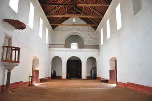 Церковь Девы Марии святого Розария, главный и единственный зал