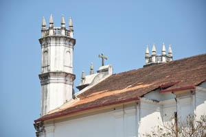 Восьмиугольные башни церкви святого Франциска Ассизского