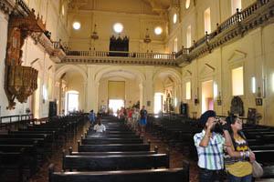 Базилика Бом Иисус, главный зал