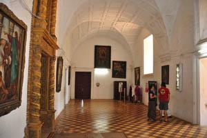 Базилика Бом Иисус, зал с картинами