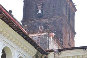 Базилика Бом Иисус, башня с колоколом