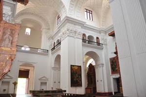 Церковь св. Каэтана, второй ярус здания