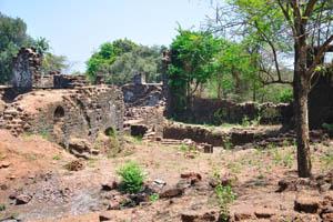 Руины комплекса св. Августина
