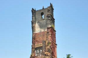 Башня св. Августинав солнечный день