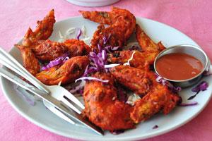 Бар и ресторан Пресли: куриные крылышки